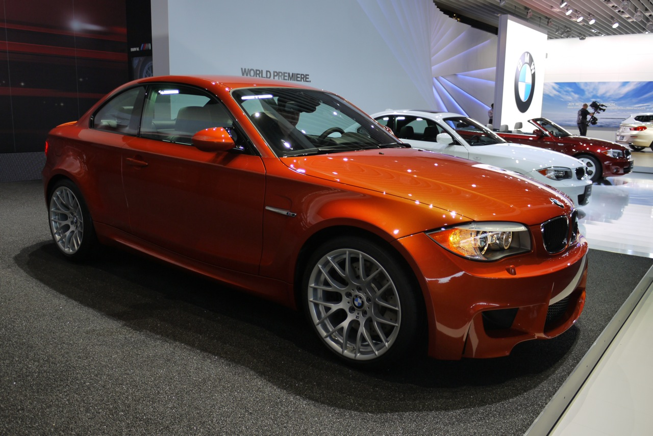 2012 BMW 1 Series M Coupe price and live photos from 2011 NAIAS