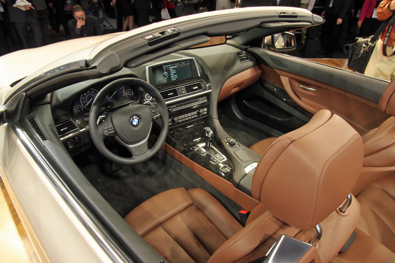 2012 BMW 6 Series Convertible (F13) at 2011 NAIAS
