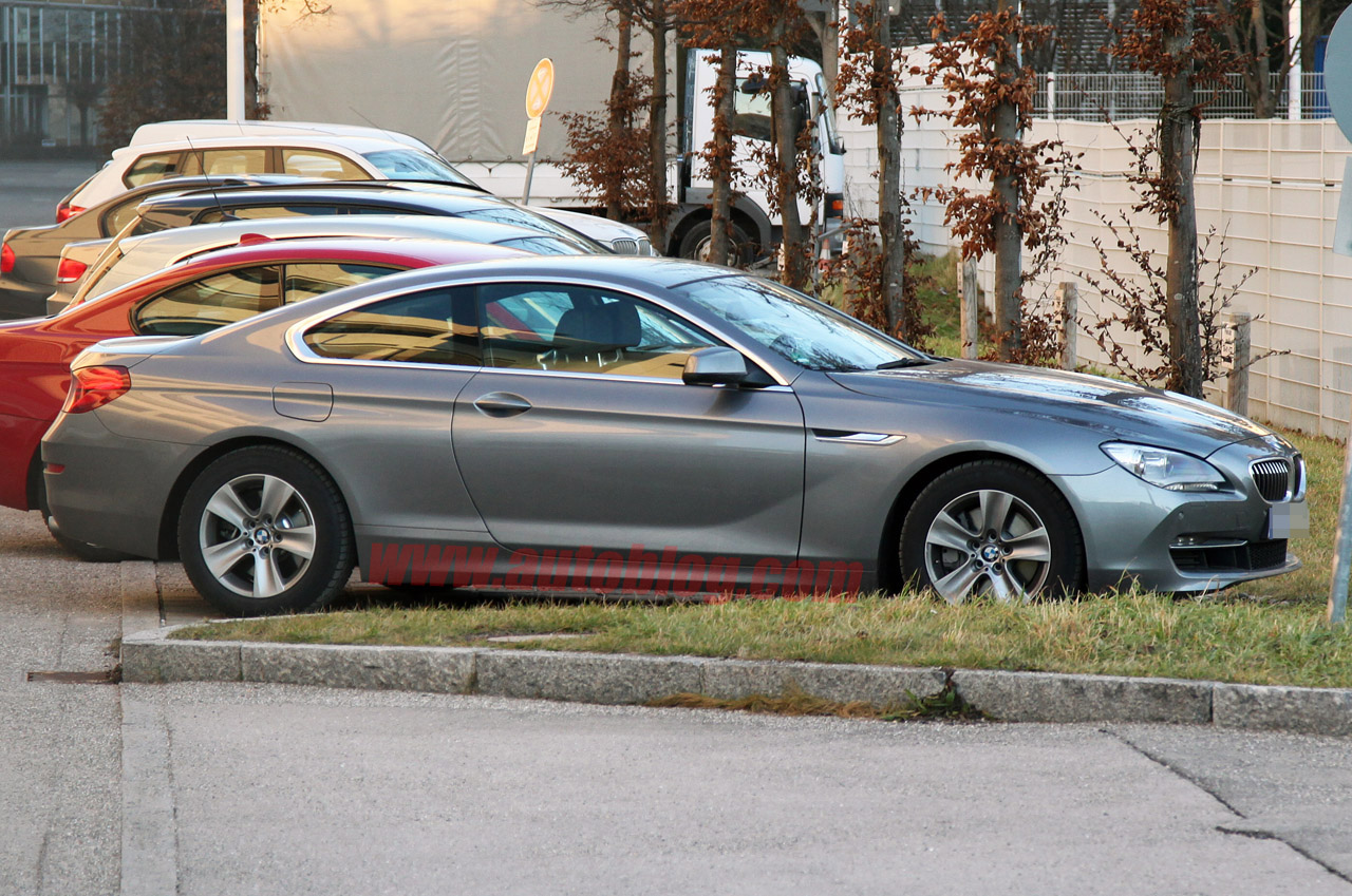 BMW 6 Series Coupe (F12) camouflage free prototype spied