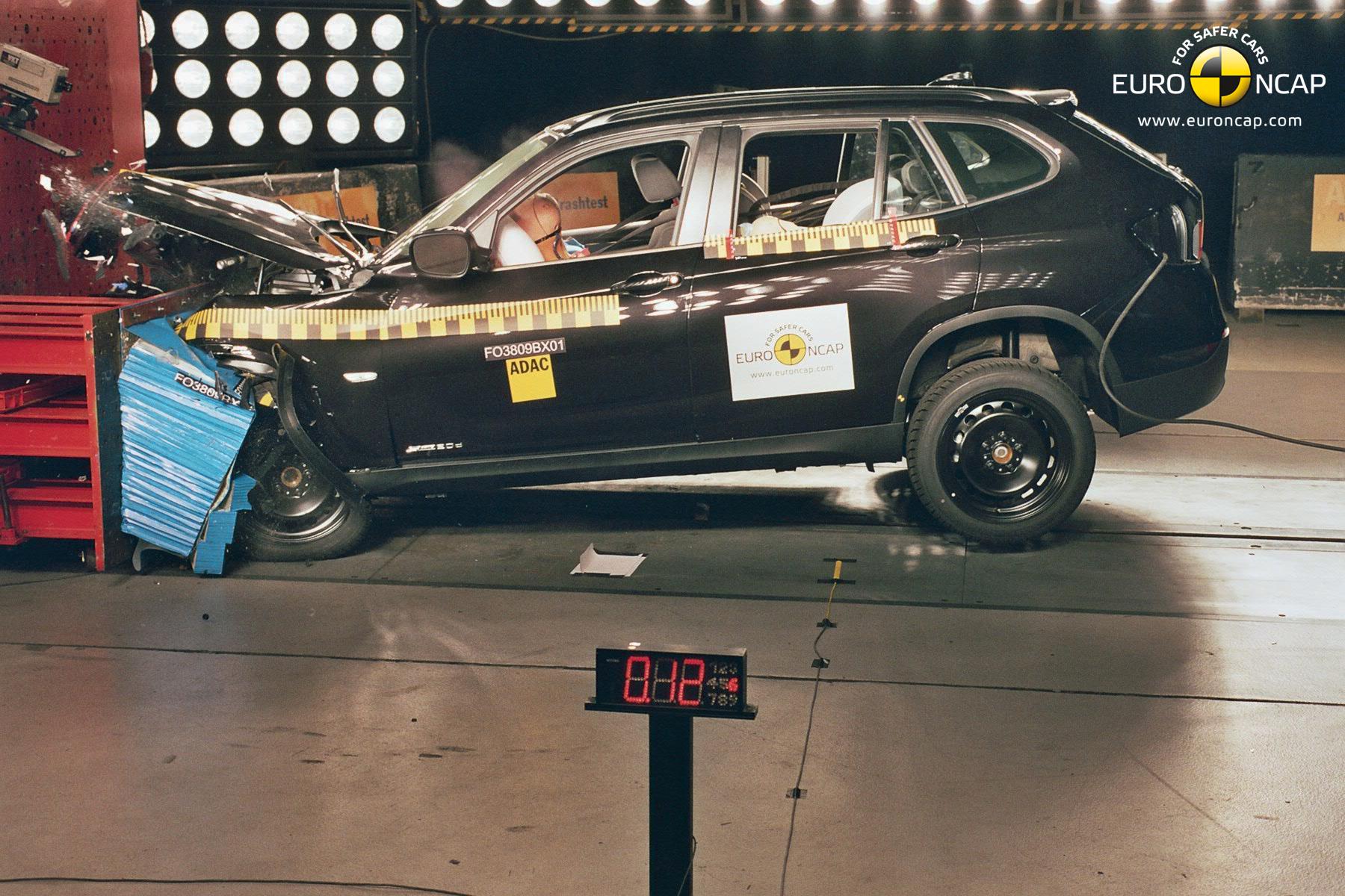 2011 BMW X1 Euro NCAP test