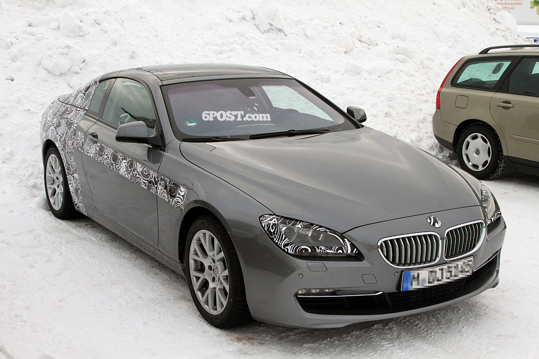 2012 BMW 6 Series Coupe (F12) with Panoramic roof