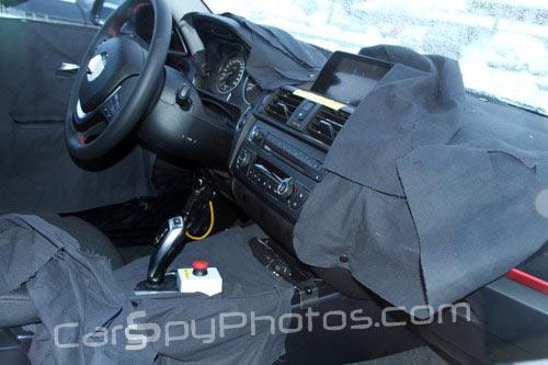 BMW 1 Series F20 spied