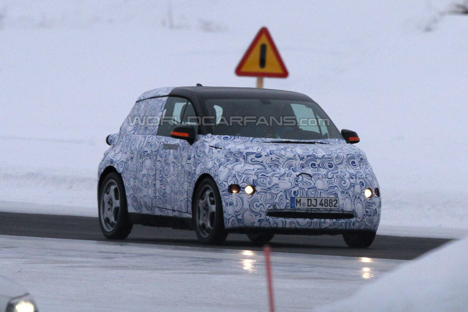 Spy Photos: BMW testing the new i3 in some frozen lands