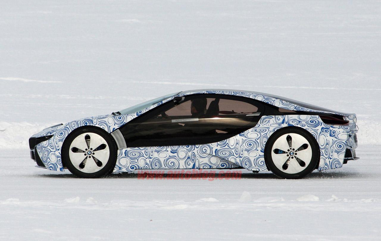 2013 BMW i8 spied