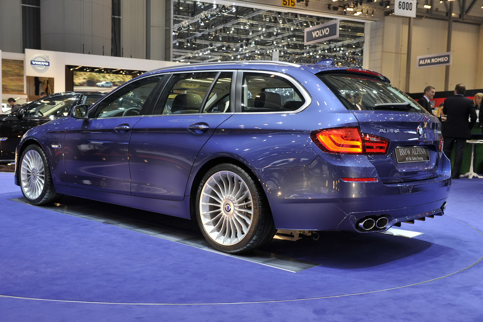 Get in touch with the new Alpina B5 Bi-Turbo at Geneva
