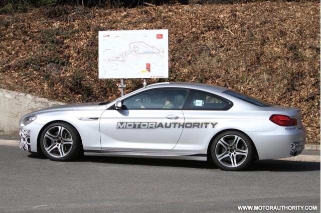 BMW 6 Series Coupe M Sport spied