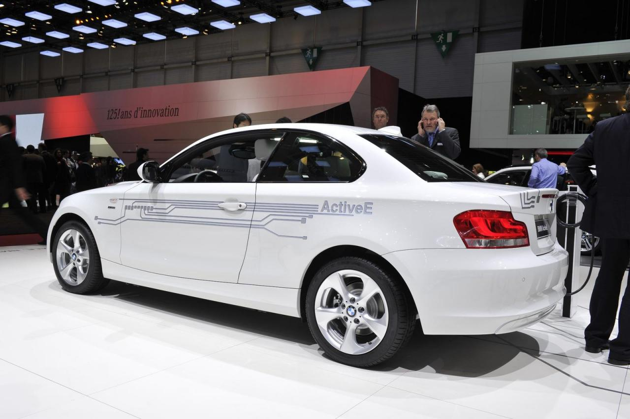 BMW introduced ActiveE at Geneva, expected to go on sale later this year