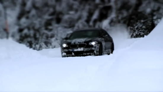BMW M5 F10 teaser