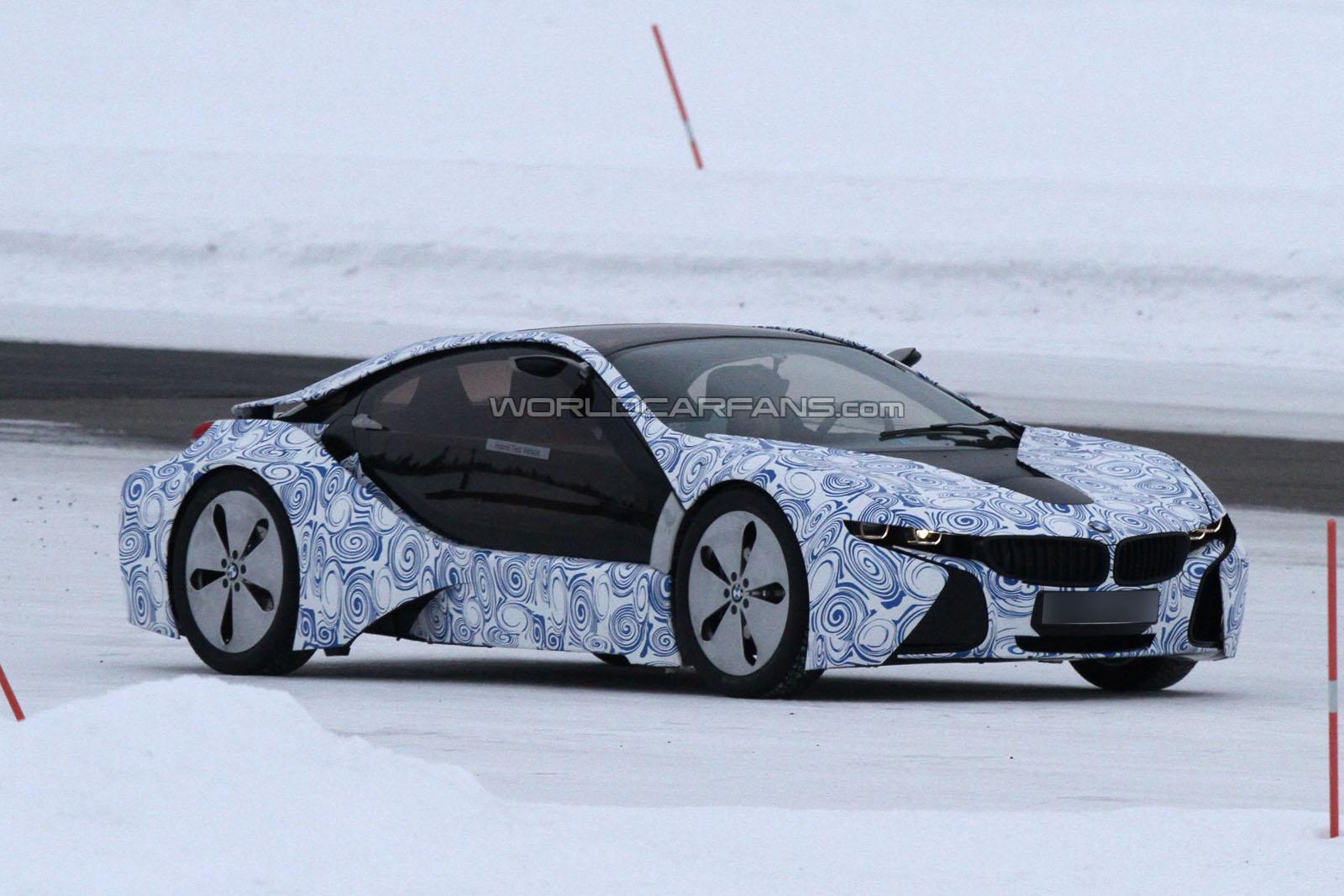 BMW i8 spied in Sweden