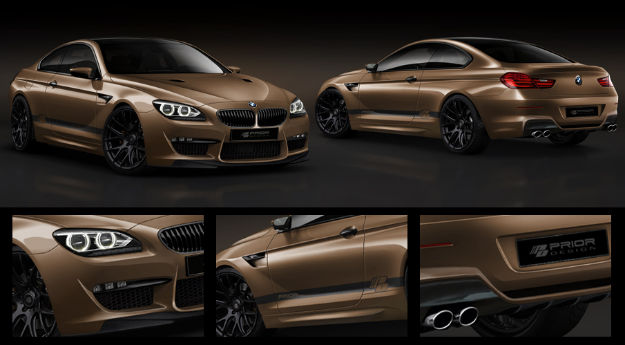 Prior Design announces 6 Series Coupe F12 tuning package