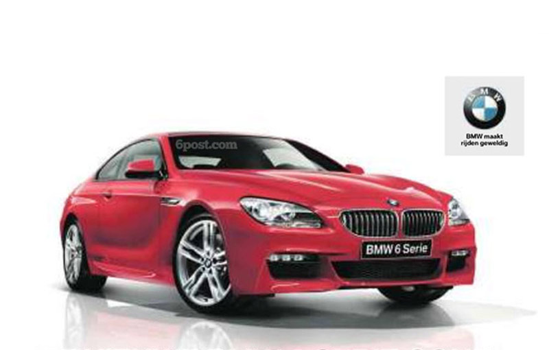 First image with the M Sport package for the new BMW 6 Series Coupe (F12)