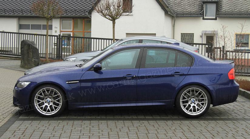 BMW M3 E90 GTS Concept spied