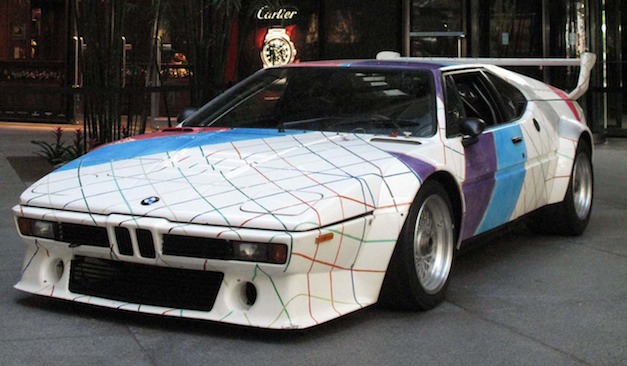 1979 BMW M1 Art Car by Frank Stella
