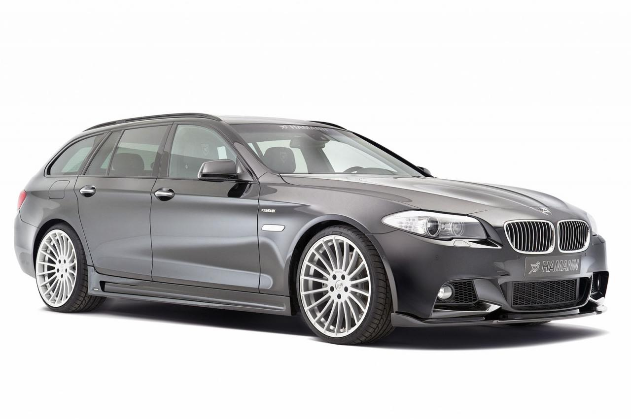 BMW 5 Series Touring (F11) by Hamann