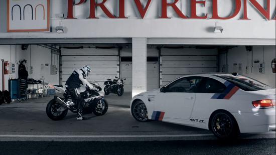 BMW RR vs BMW M3 E92