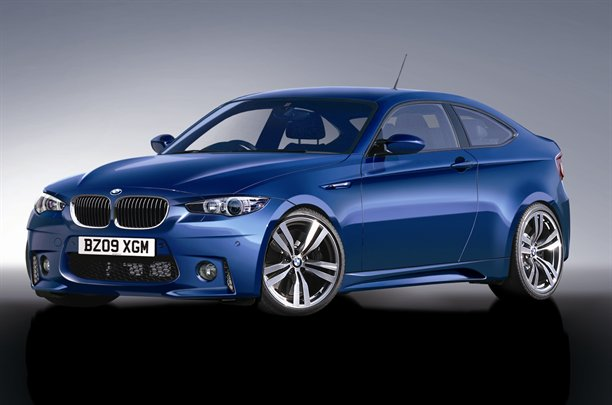 2013 BMW 1 Series Coupe rendering
