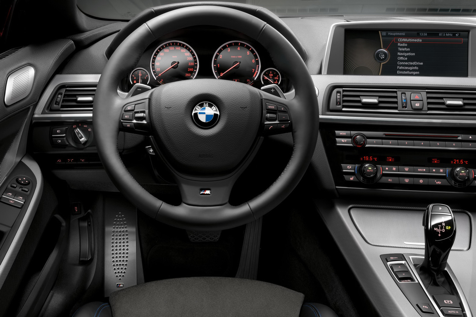 2012 BMW 6 Series with M Sport package