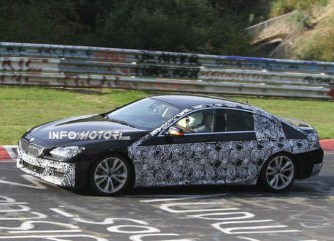 2013 BMW 6 Series Gran Coupe spied