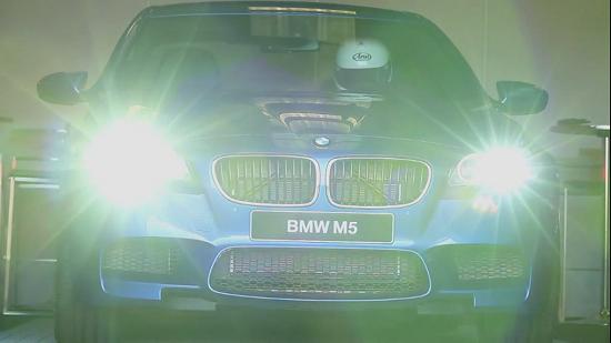 BMW M5 at Laguna Seca