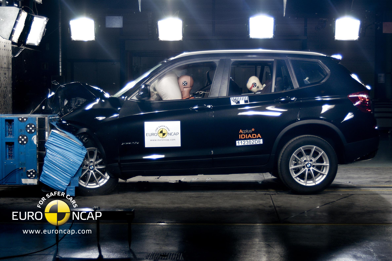 BMW X3 crash test