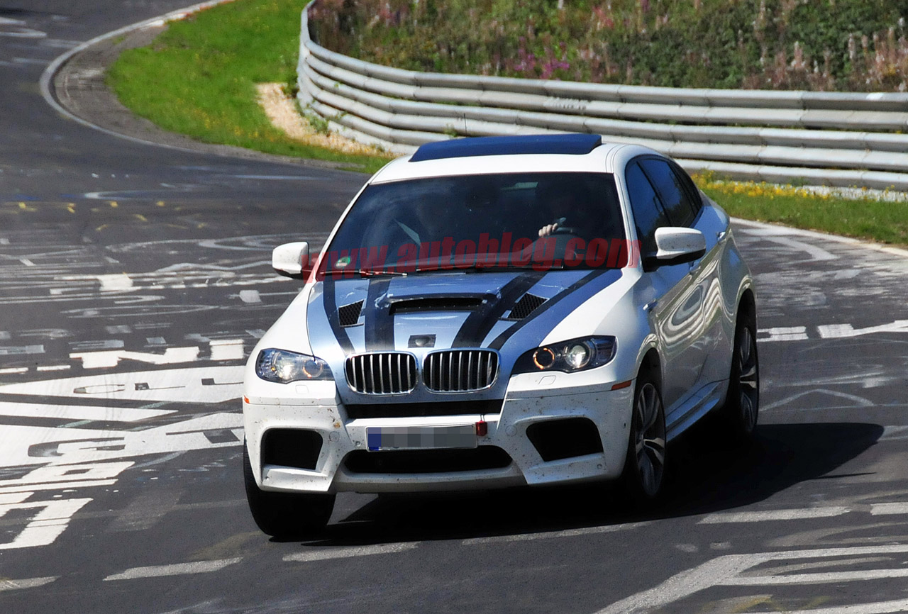 BMW X6 M spied