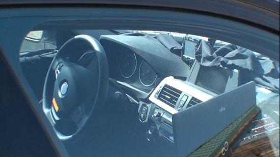 2012 BMW 3 Series spied