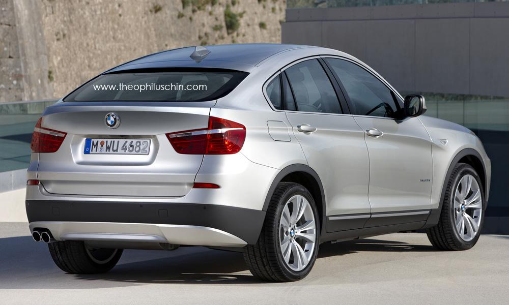 BMW X4 rendering