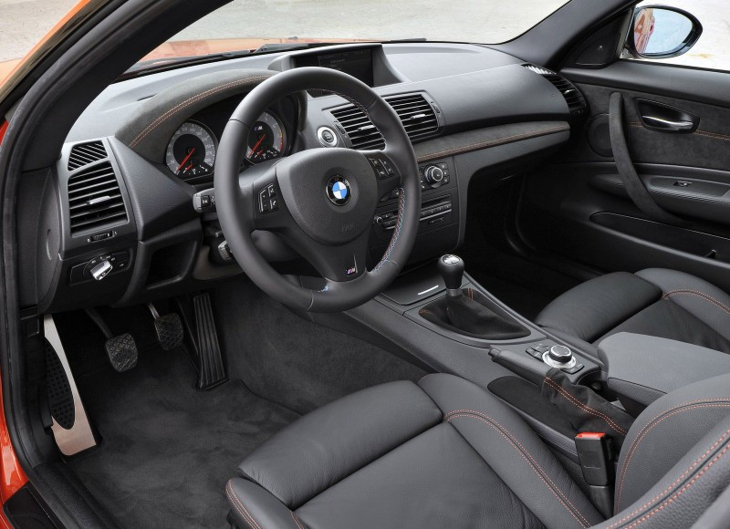 BMW 1M Interior