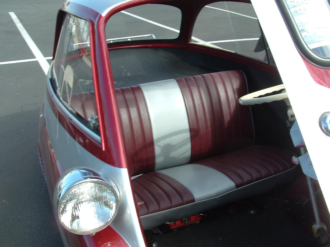 BMW Isetta Interior