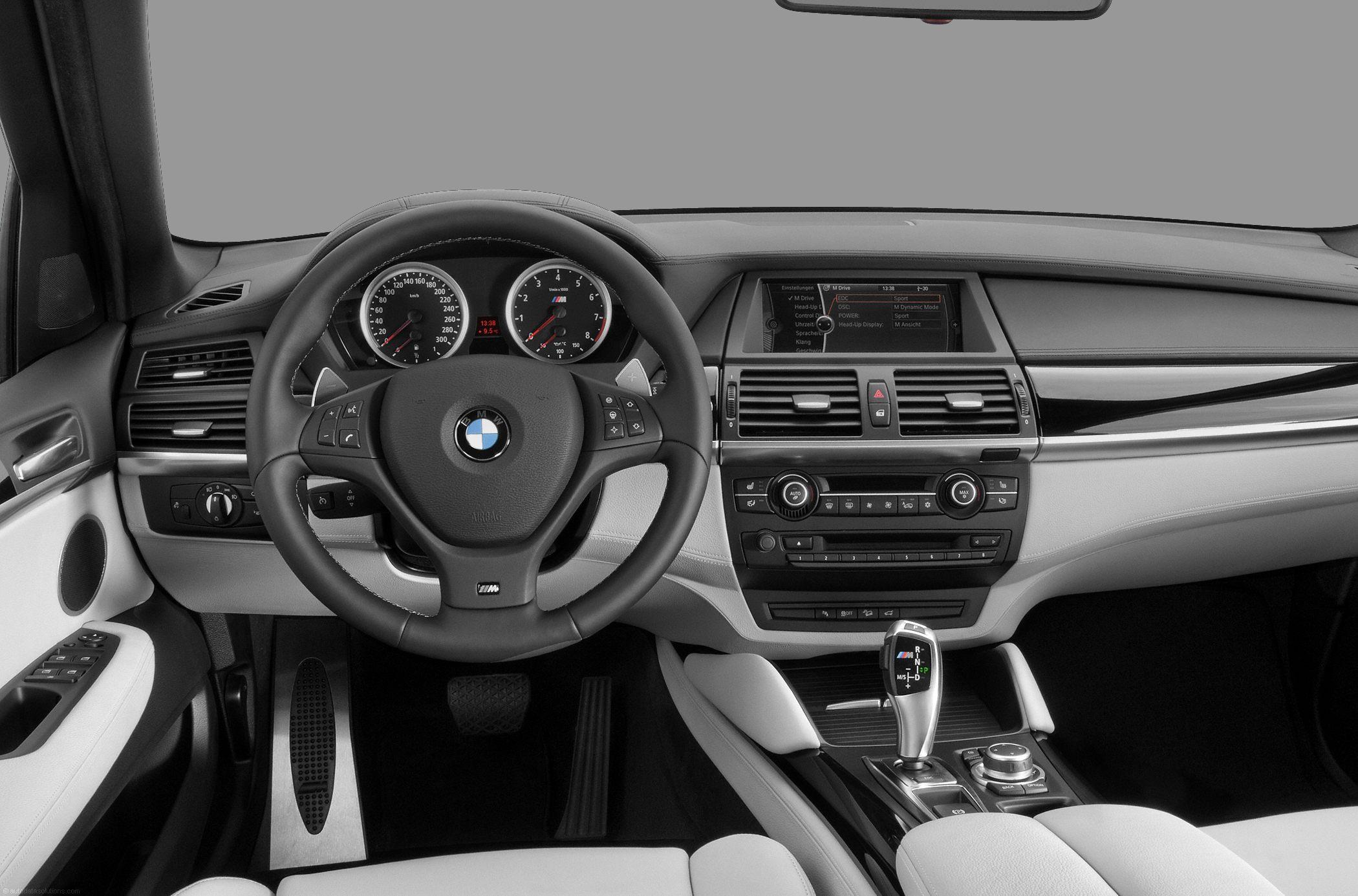 BMW X5M Interior