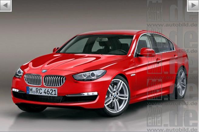 2012 BMW 3 Series rendering
