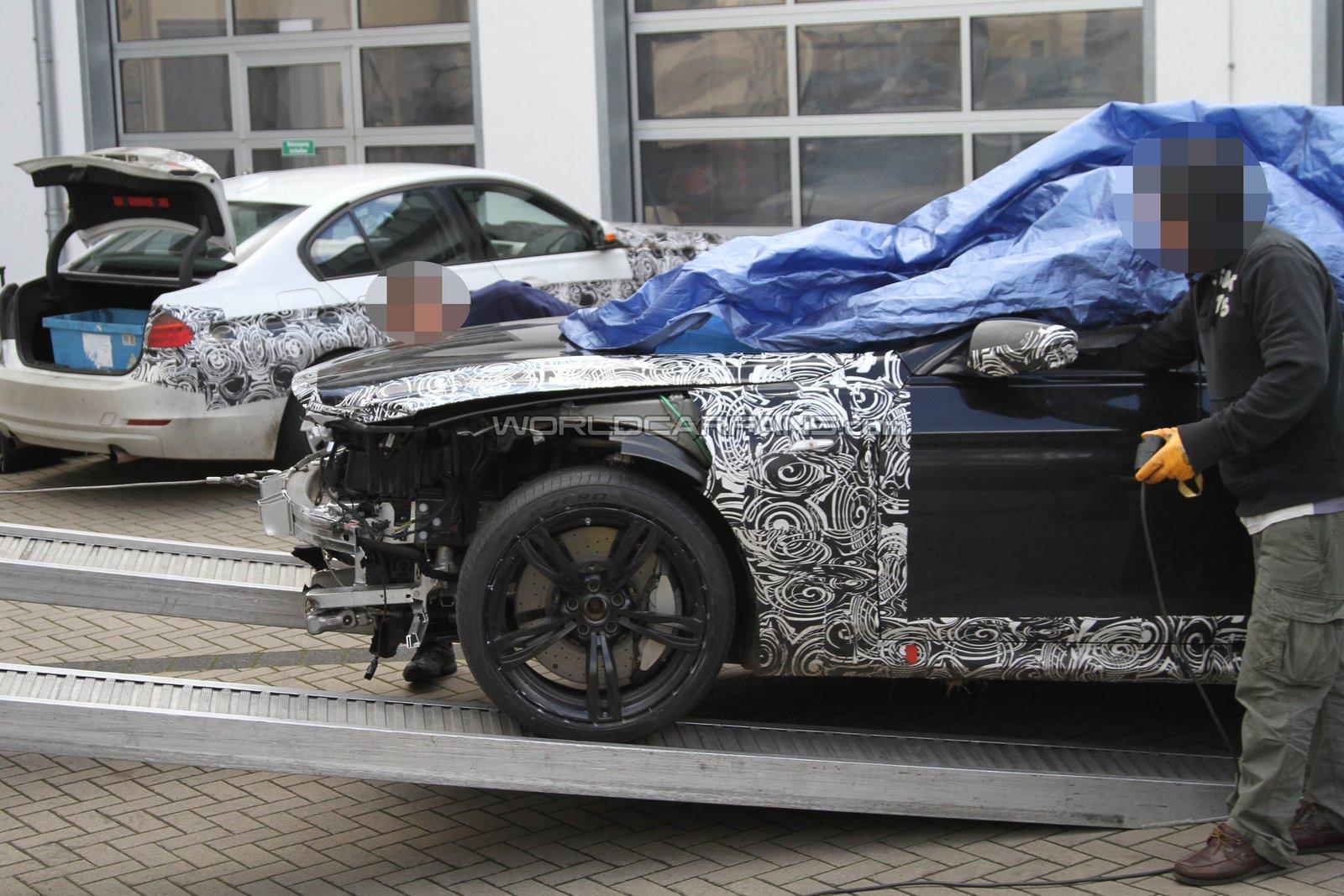 2012 BMW M6 Nurburgring crash