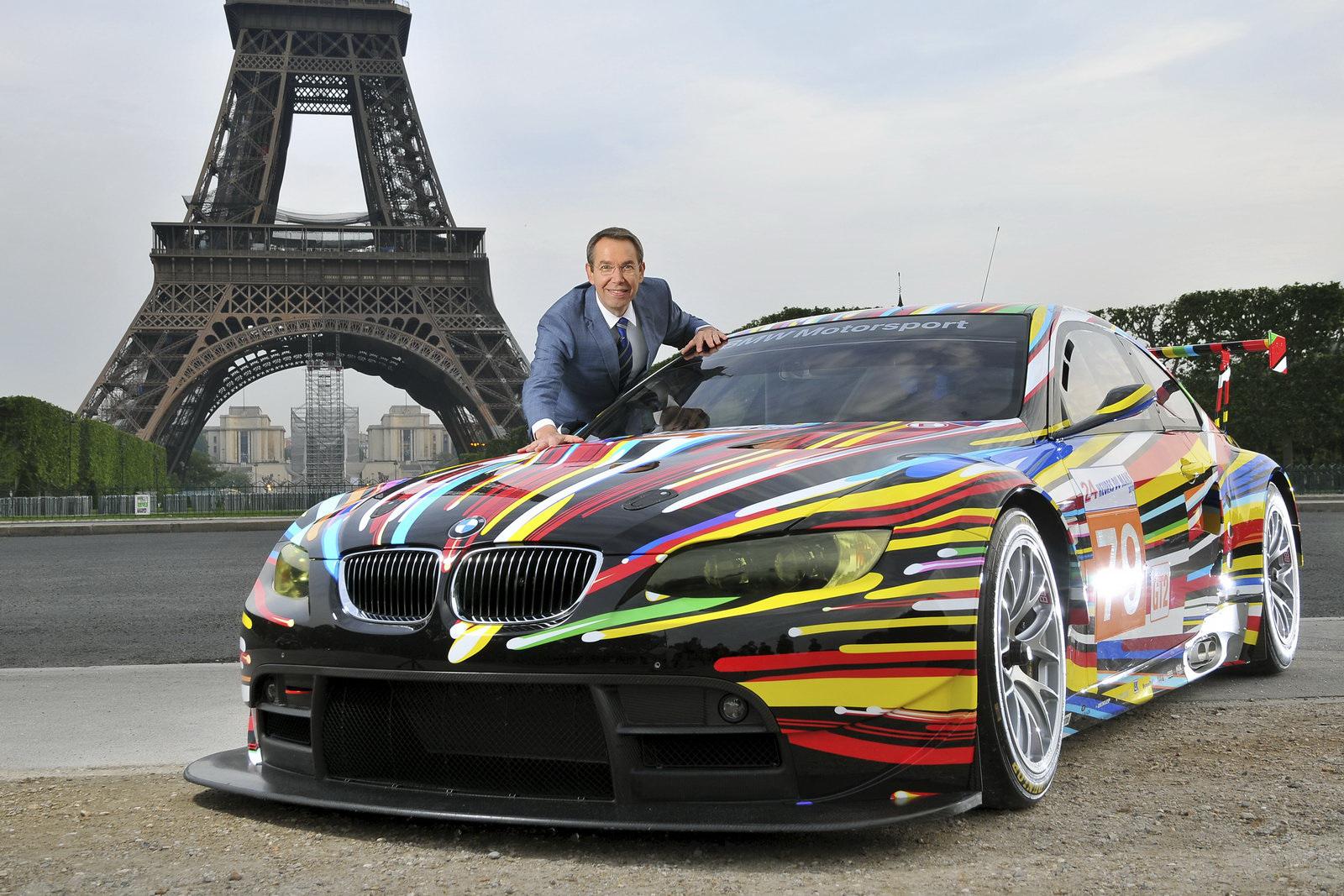 Jeff Koons BMW M3 GT2 ArtCar