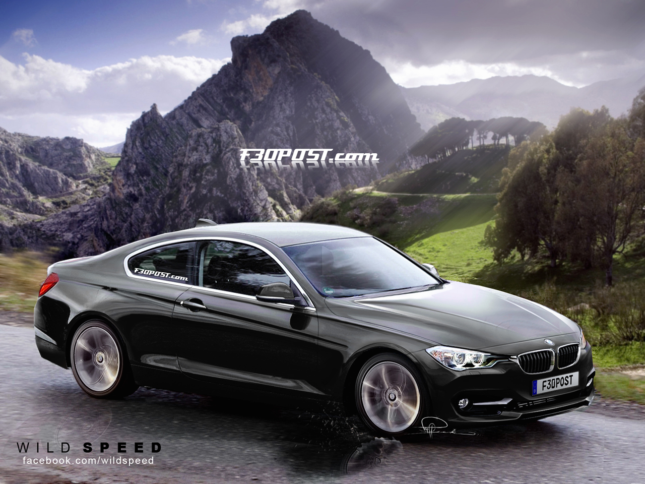 2012 BMW 3 Series Coupe rendering