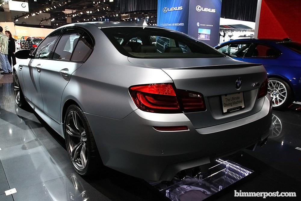 2012 BMW M5 Frozen Silver