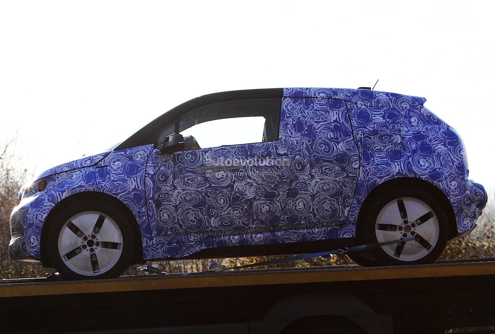 BMW i3 REx spied
