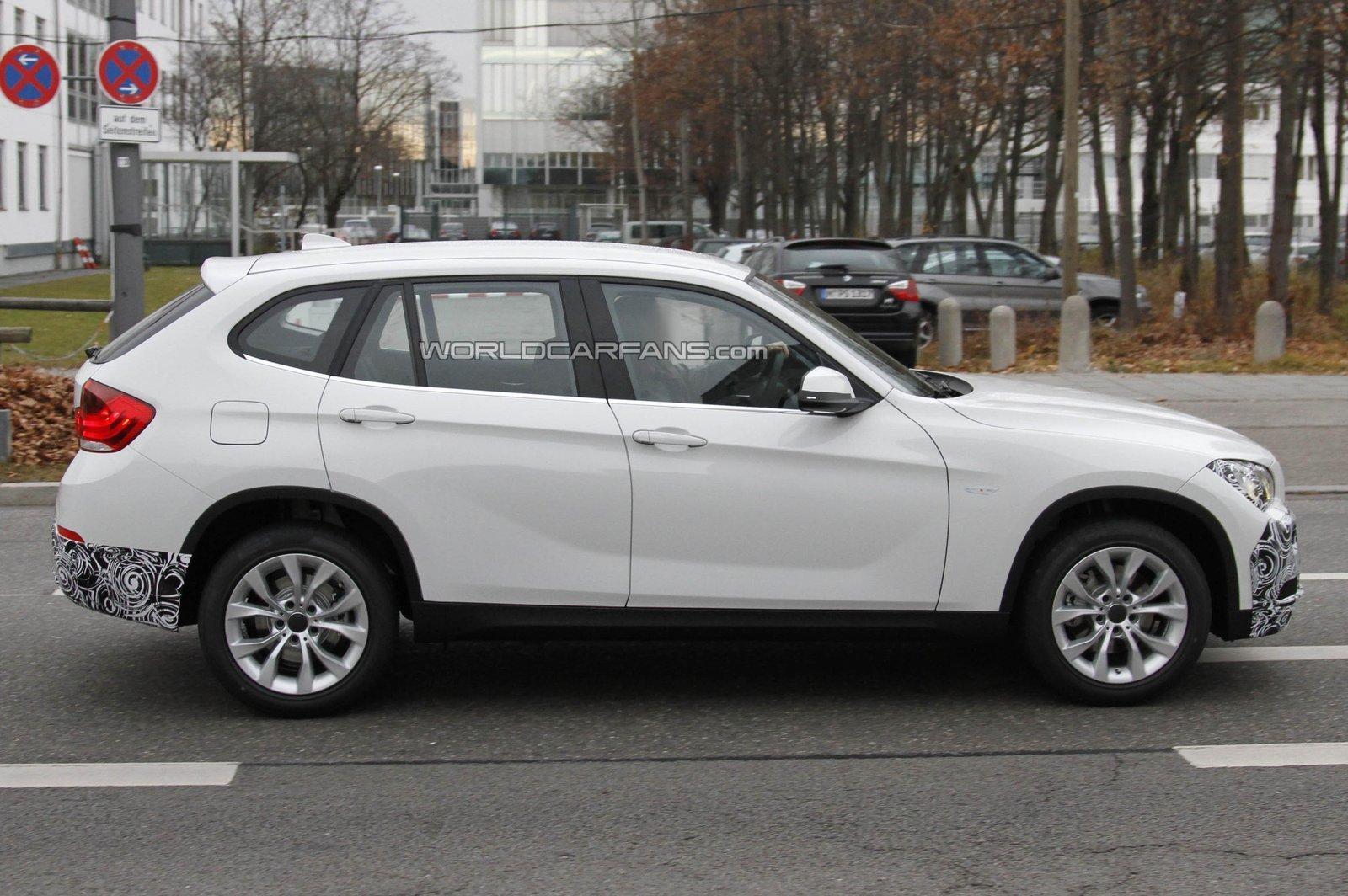 2013 BMW X1 spyshots