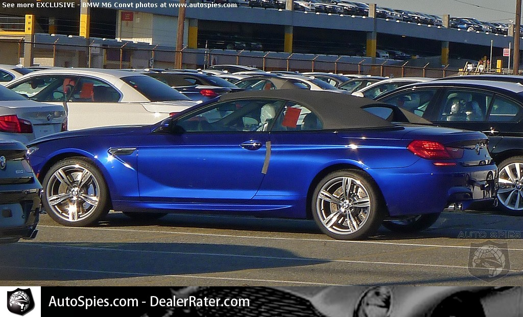 BMW M6 Convertible spied