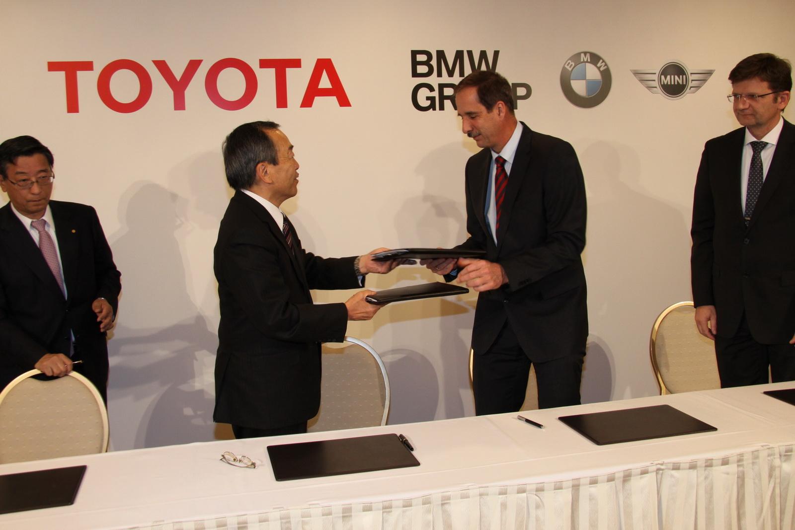 BMW-Toyota signing