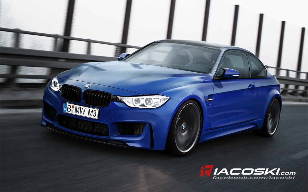 F30 BMW M3 Coupe rendered