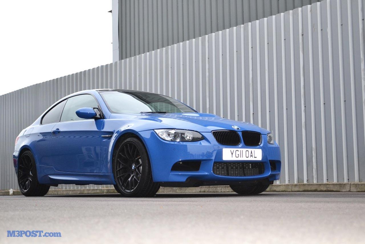 2011 BMW M3 Santorini Blue