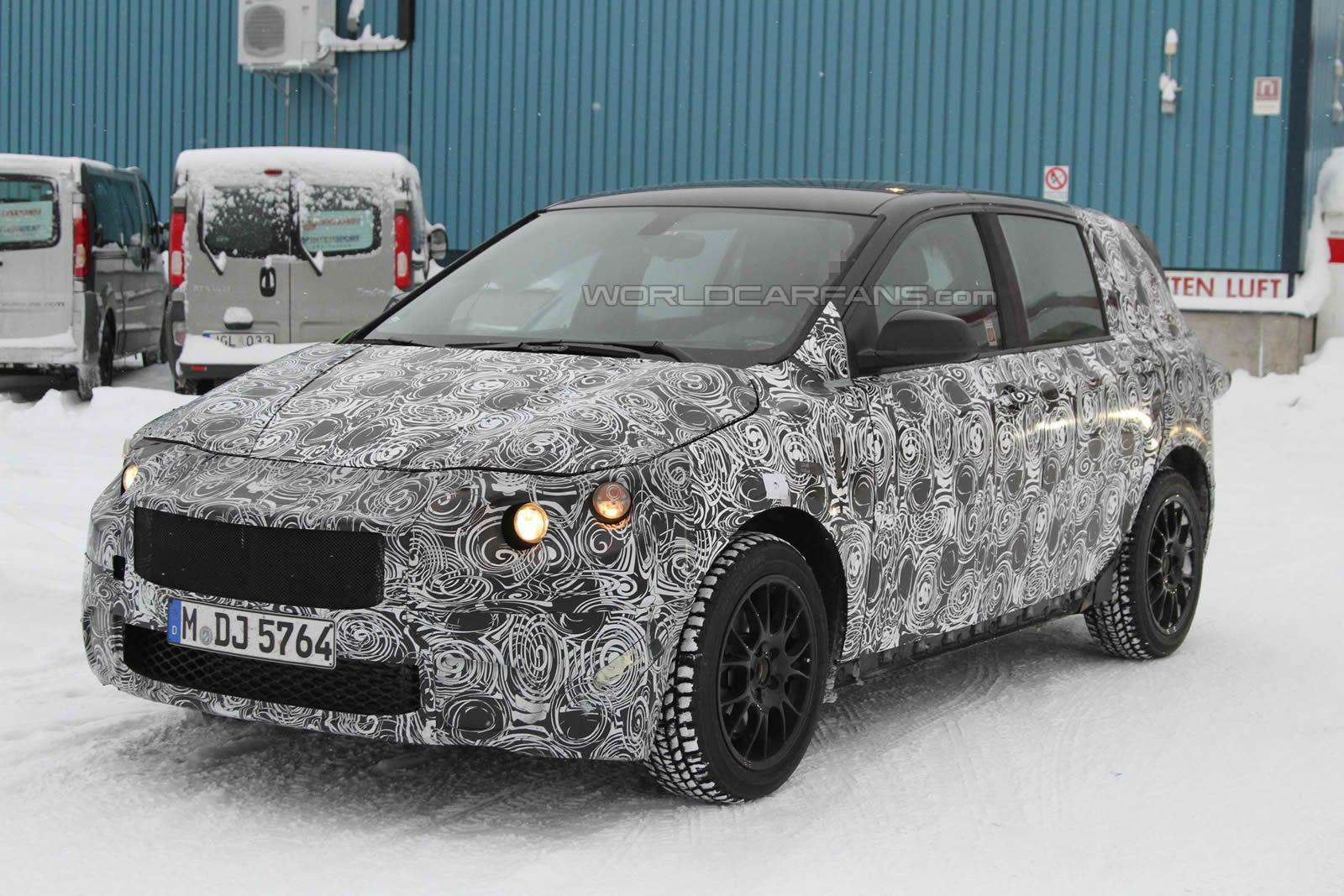 2013 BMW 1 Series GT spied