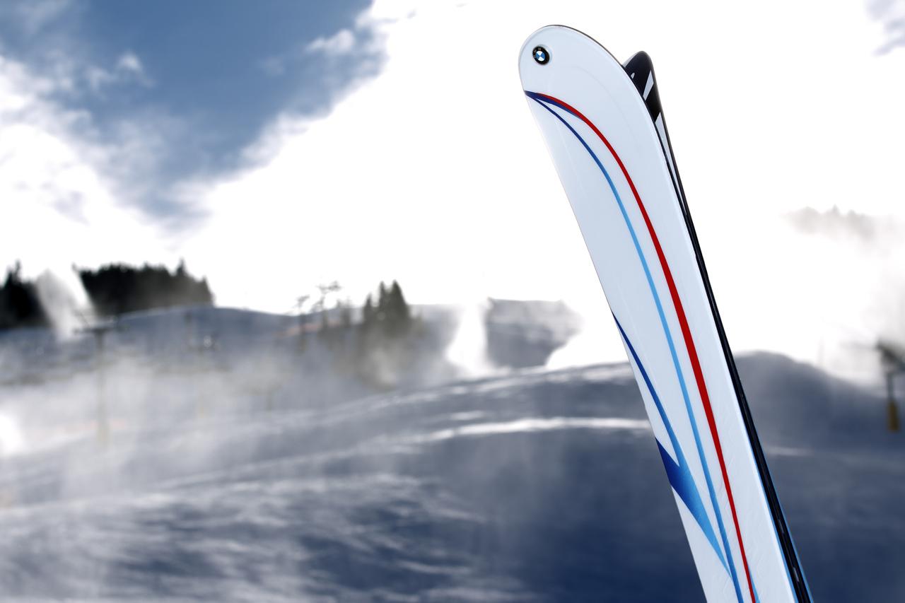BMW M Performance K2 skis