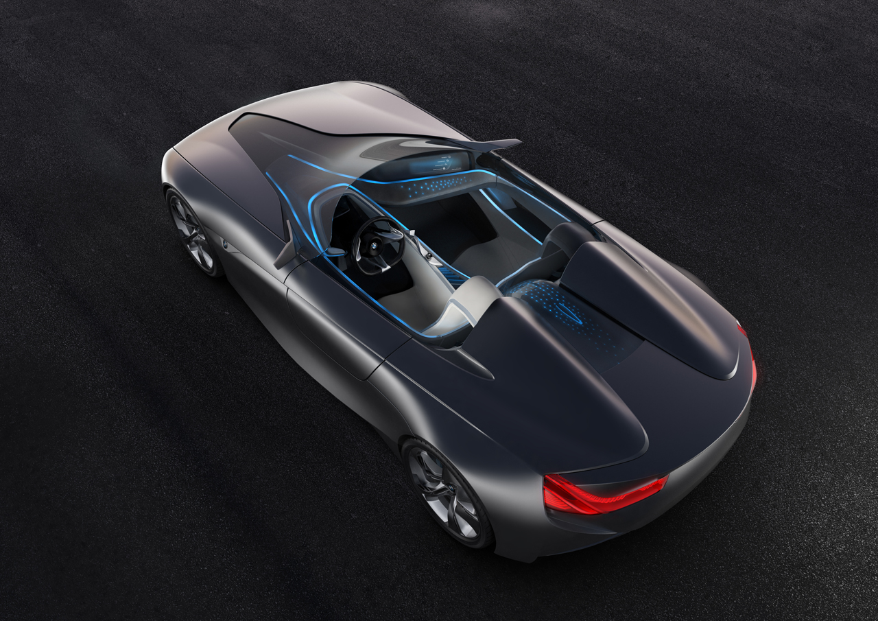 BMW Vision smart fabrics