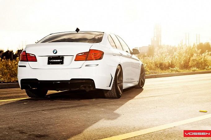 F10 BMW 5 Series by Vossen