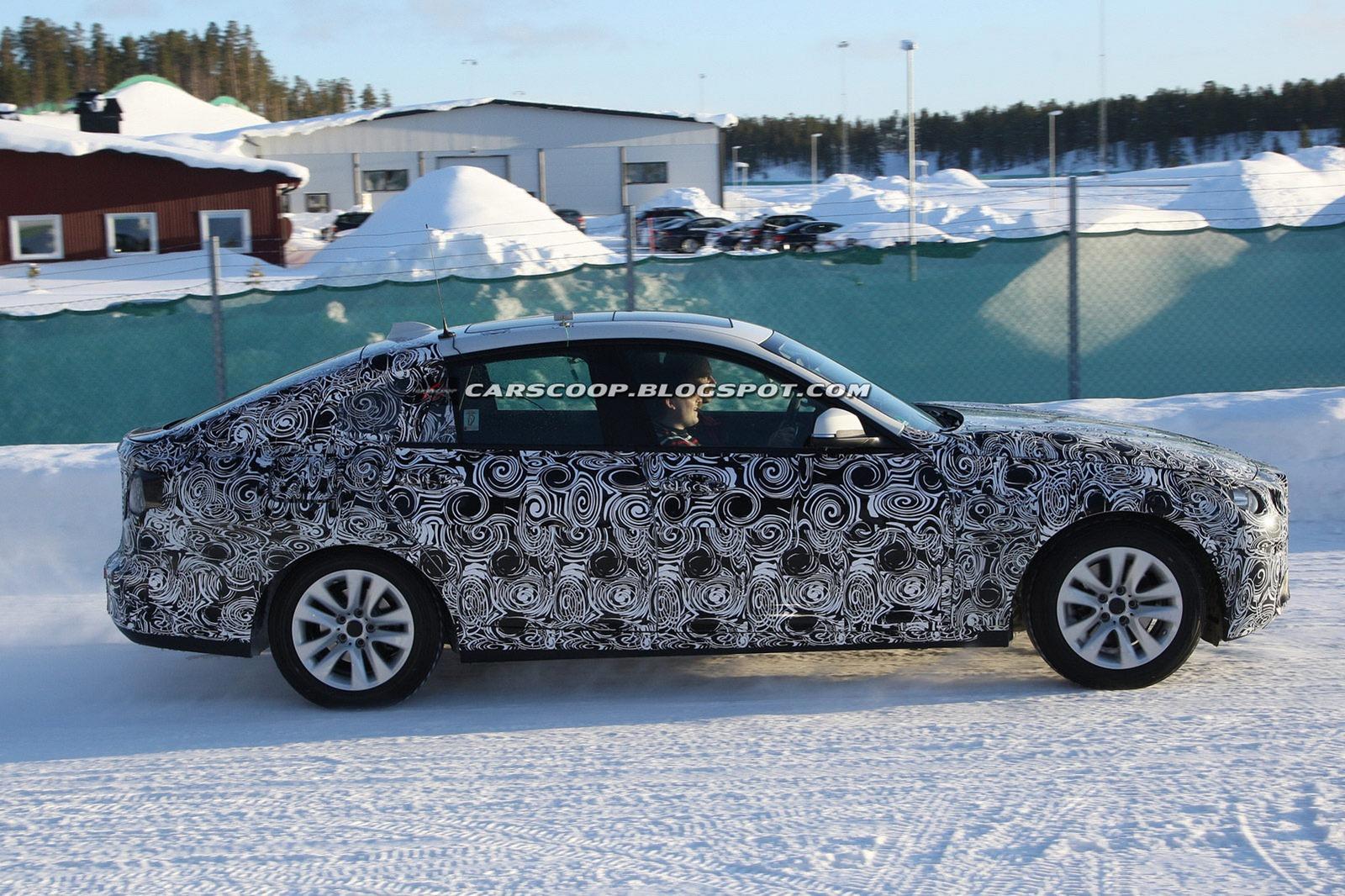 2013 BMW 3 Series GT spied