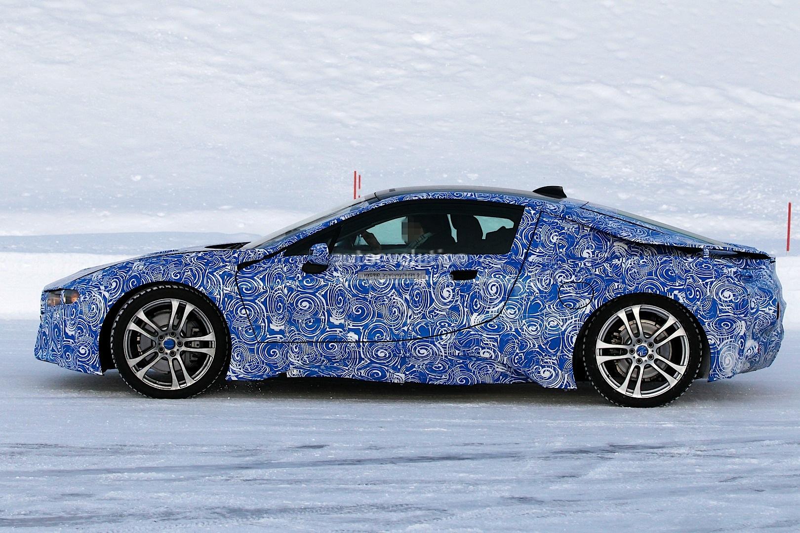 2014 BMW i8 spied