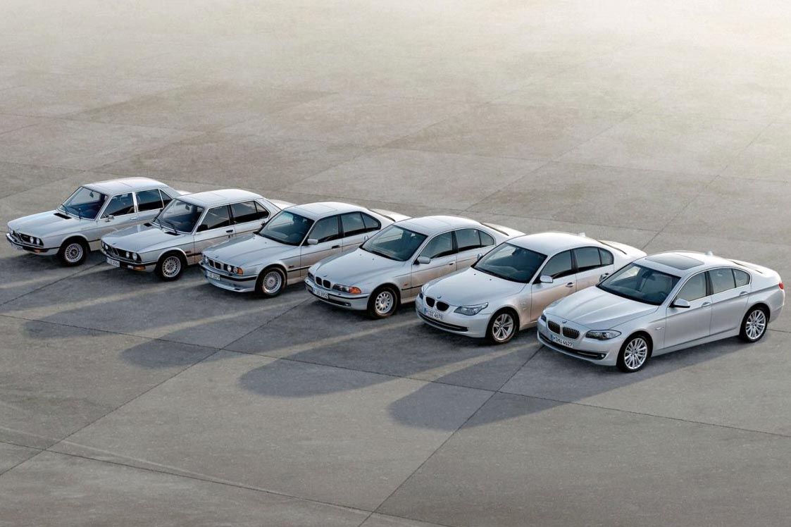 BMW 5 Series history