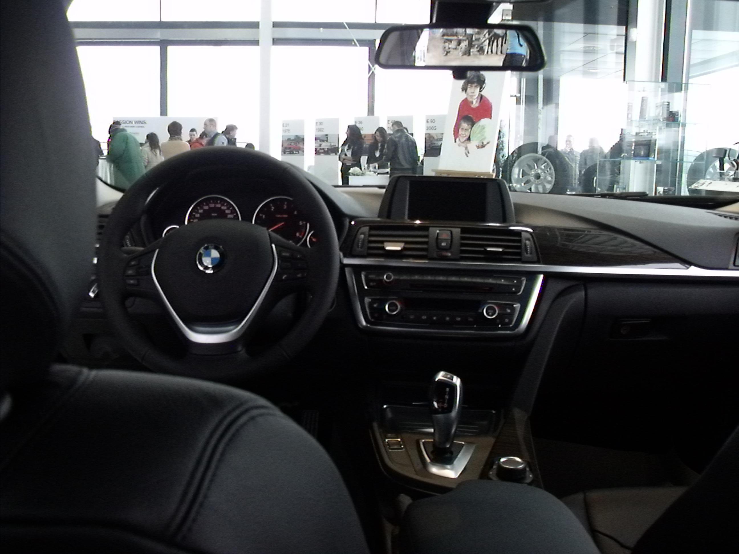 F30 BMW 3 Series Interior