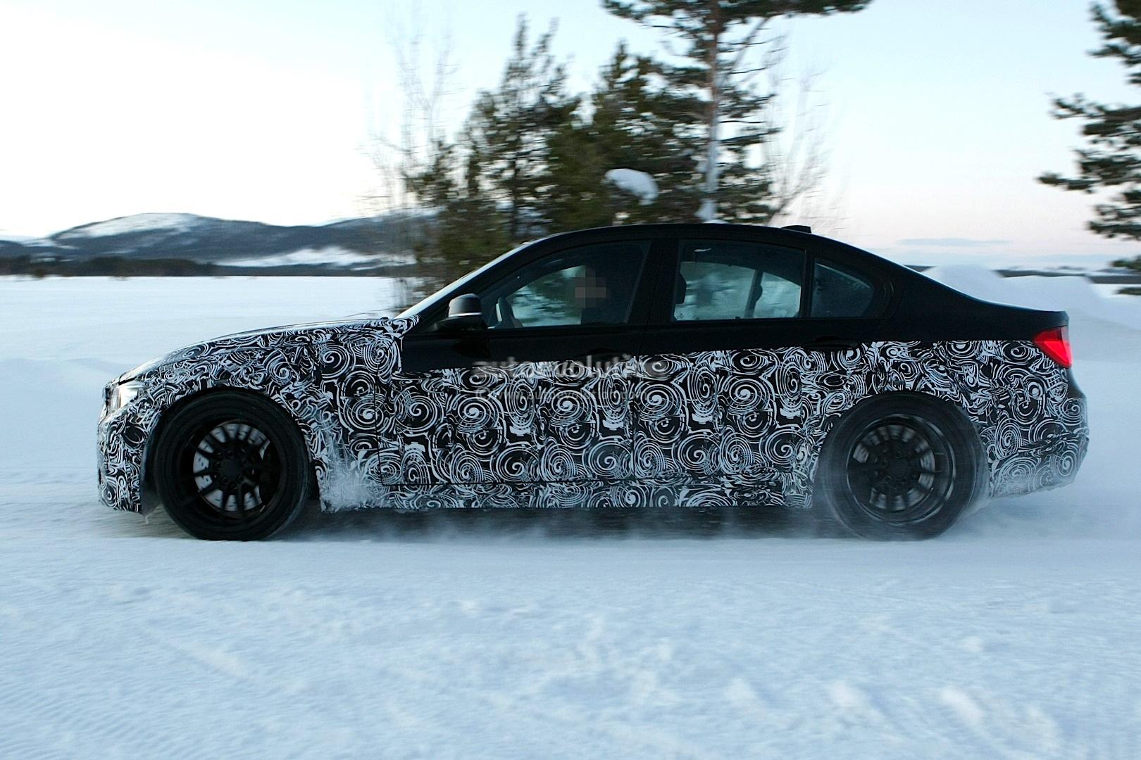 F30 BMW M3 Spyshot